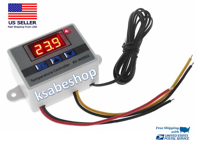 110 220V Incubator Digital Temperature Controller Thermostat Switch Probe Tester