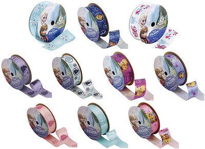 Disney Frozen Ribbon Spools-Olaf-Anna-Elsa-Kristoff-Characters-Family Forever