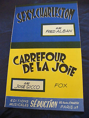 Sexy Partition Charleston Fred Alban Carrefour De La Joie De Jose Sicco Ebay