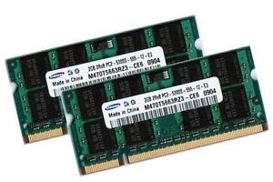 2x-2GB-4GB-RAM-Speicher-Fujitsu-Siemens-Amilo-Xa-1526-Xi-2428-2528-2550