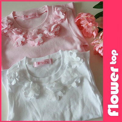 Kid Ruffle Flower Top Shirt Luxemoon Pettiskirt TuTu