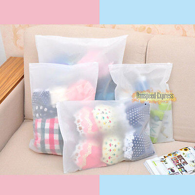 4 size Waterproof Travel Storage Bag Shoes Cloth Organiser Seal Locks Pouch Suit