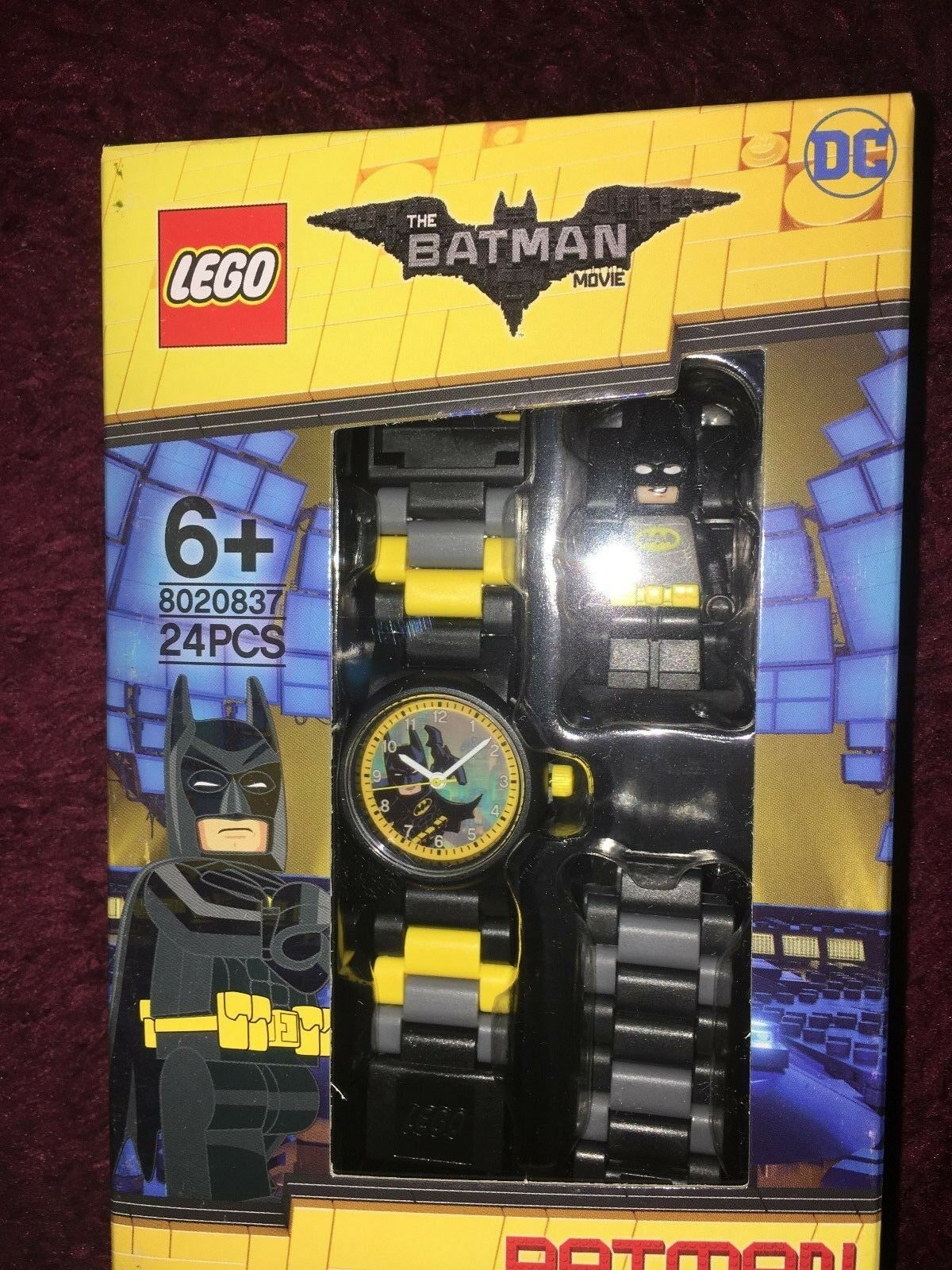 Batman lego movie batman analogue  watch with lego batman