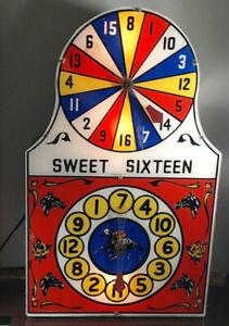 1940-039-s-Horse-Racing-Gambling-Game-Sweet-16-horse-race-gambling-trade-stimulator