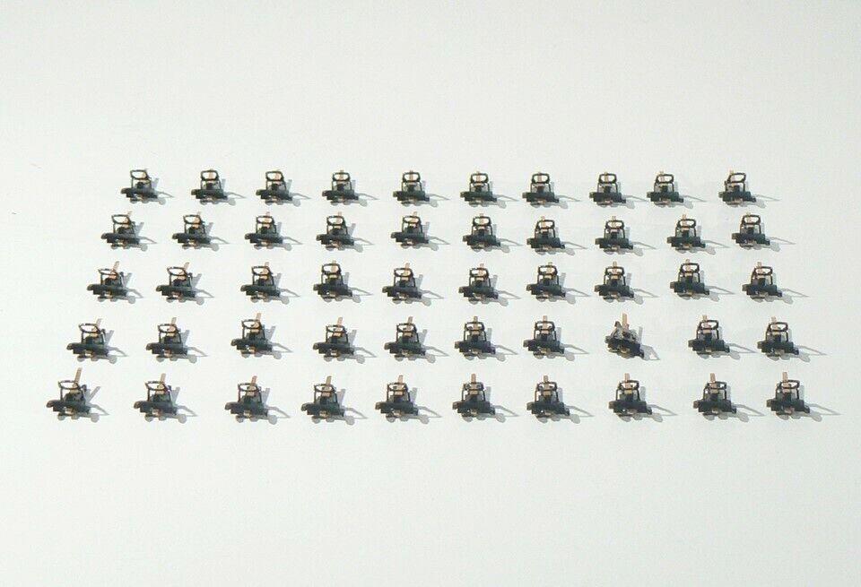 RTS 5910 H0, 50 x stromführende Kurz- Kupplung NEM ( Märklin 72021 72020 ), neu