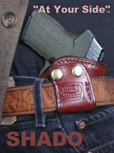Ruger-85-89-Leather-Holster-SHADO-144A-Ambidextrous-Right-Hand-or-Left-Hand
