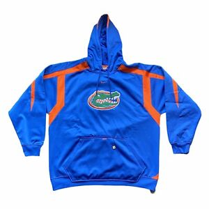 Nike Team Fit Therma Florida Gators Mens Hooded Pullover Sweater Jacket Size XL