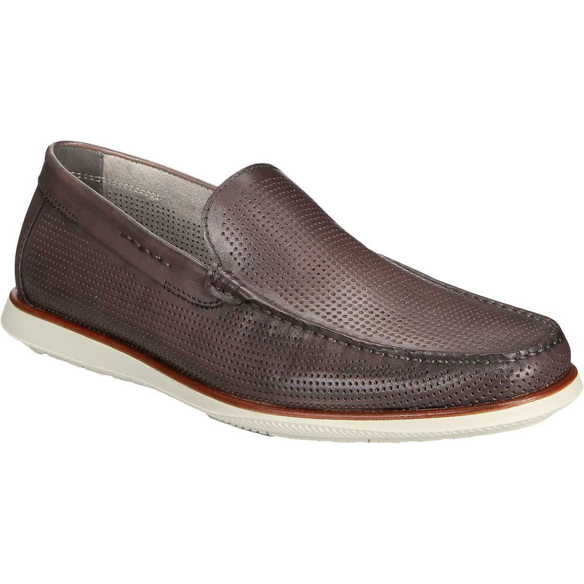 Kenneth Cole New York Mens Cyrus Gray Loafers Shoes 9 Medium (D) BHFO 3262