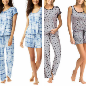 4 pieces Lucky Brand Ladies' Pajama Set Variety Sizes Colors Comfort Fast Ship!