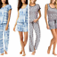 miniatuur 1 - 4 pieces Lucky Brand Ladies' Pajama Set Variety Sizes Colors Comfort Fast Ship!