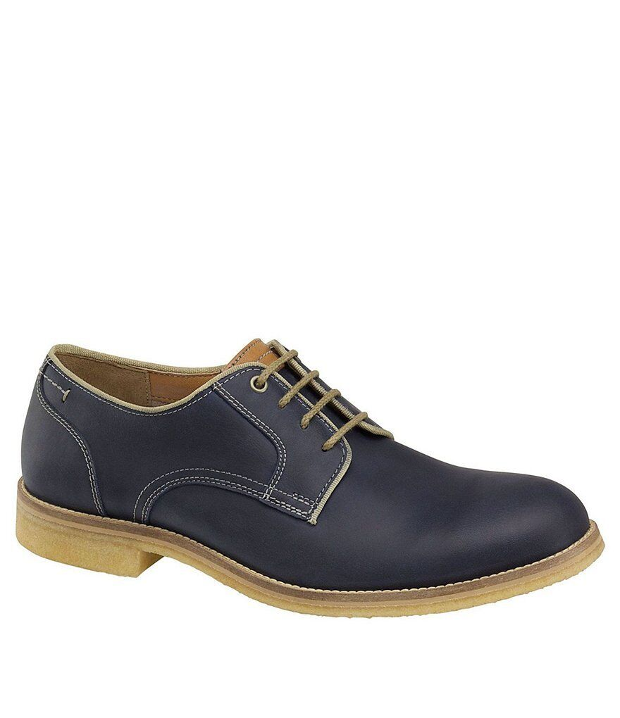 NEW - J&M EST. 1850 Men's 'HOWELL' Navy LEATHER DRESS SHOES - 11.5
