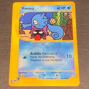 Pokemon NM Aquapolis Horsea 85//147 Common