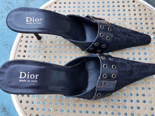 Dior Christian 39 300 Euros Mules De ZTfqR