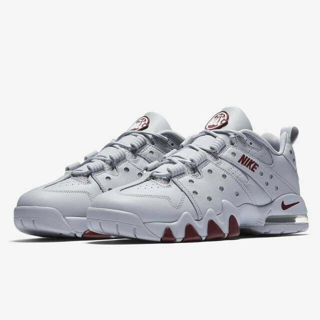 Nike Air Max CB 94 Red Low Wolf Grey Team Red 94 Charles Barkley Men's Sz 13 917752-002 e639e4