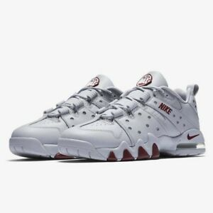 Nike Air Max CB 94 Low Wolf Grey Team Red Charles Barkley Men s Sz ... c685948623fe