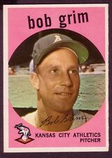 1959 TOPPS BOB GRIM CARD NO:423 NEAR MINT BG42