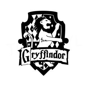 Good Image Is Loading 4 9 034 GRYFFINDOR CREST Vinyl Decal Sticker