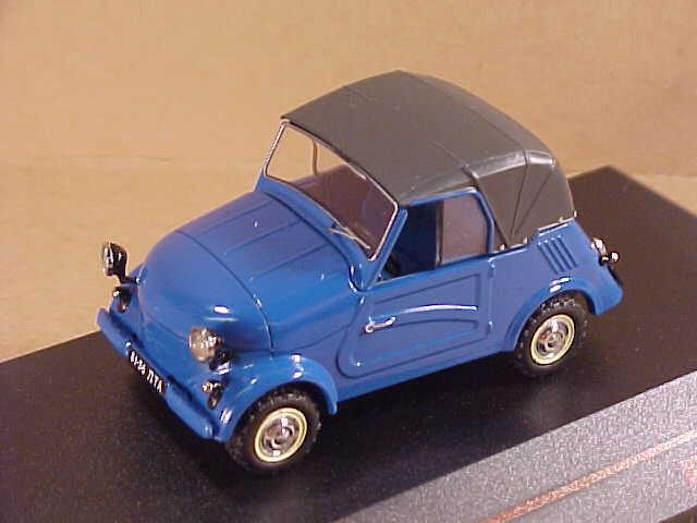Ist modellllerler 1  43 Pressofuso 1967 Sovietico Smz S3a,2 -Seattle Bordo Morbido,blå \35;