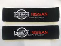 Nissan Car Seat Belt Cover Shoulder Pad Pair Powerseller