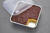 Nordic Ware Natural Aluminum Commercial Square Cake Pan With Lid, Exterior 9.88 on sale