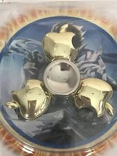 "HAND FIDGET METAL SPINNER TOY ""GOLDEN APPLES"" LONG LASTING  ** US SELLER**"