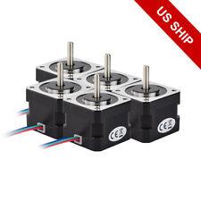 15x 26ncm Nema 17 Stepper Motor 04a 18 4wire Cable For 3d Printer Cnc Reprap