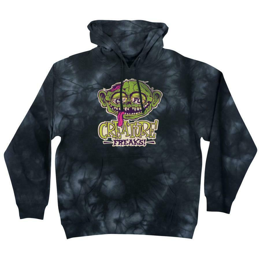 Creature Freaks Pullover Midweight Hooded Sweatshirt art by Burrito Breath