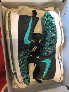 c73c019084d Nike Zoom KD 9 Birds of Paradise Size 10.5 green black flyknit ...