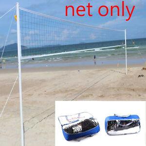 3in1 Game Size 32x3 Volleyball Beach Tennis Badminton Net