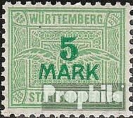 Wurttemberg-5-Mark-with-watermark-crosses-and-Rings-mint-never-hinged-mnh-1906-S