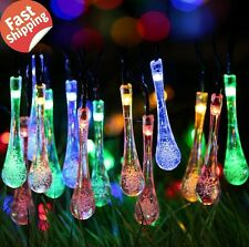 Outdoor Solar Lights Garden Patio Yard Led Lamp String Lawn Waterproof Home Tree