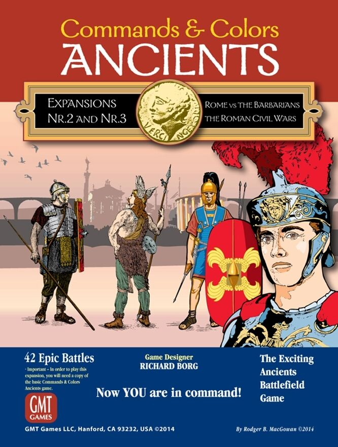 Commands & Farbes  Ancients - Expansions 2 & 3 New by GMT English Edition
