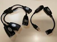 Lot Of 5 - Usb 1.1 Extender Up To 150 Feet (45.7m) -