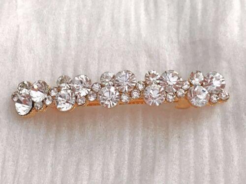 GET 1 FREE* Bridesmaid Crystal Hair Barrette Hair Clips Hair Accessories-*BUY 2