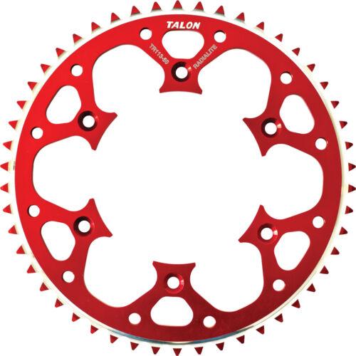 Fits Honda CR500R,CRF450R,CRF250R,CRF2 RED TALON GROOVELITE REAR SPROCKET 51T