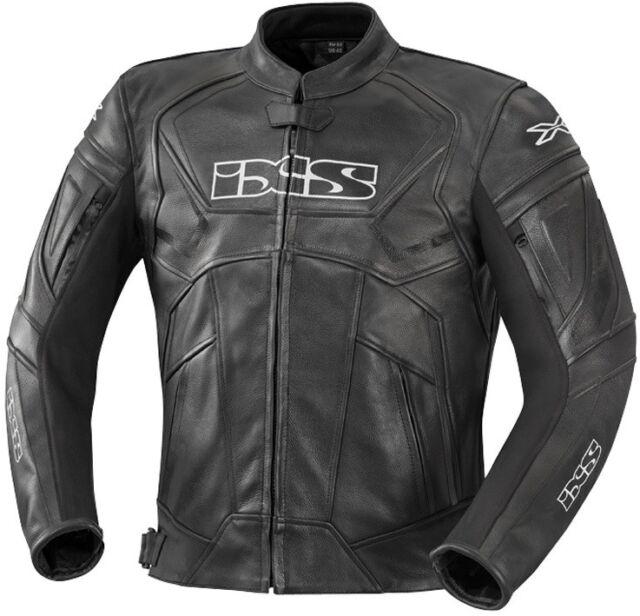 Ixs Hype Hommes Blouson Moto Sport Touring Veste en Cuir Doublure Thermique