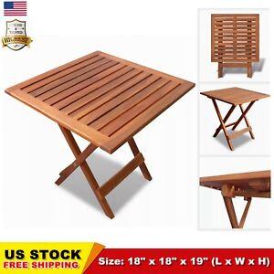 Outdoor-Folding-Square-Coffee-Side-Table-Acacia-Wood-Patio-Deck-Garden-Durable