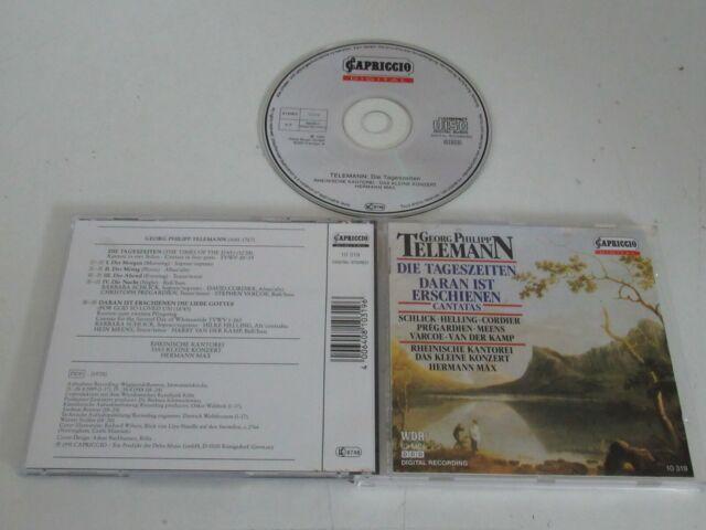 Telemann/Rheinische Kantorei–Die Tageszeiten/Daran Ist Erschienen(Cantatas)