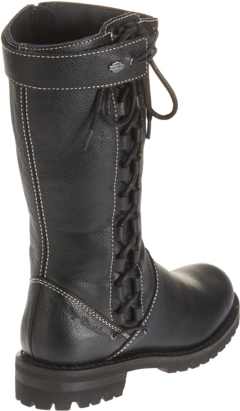 Harley-Davidson Women's Melia Welted 10-Inch Motorcycle Boots, Side Lace D85054