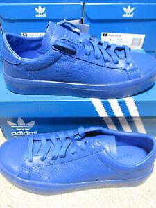 best loved 40362 6f492 Caricamento dellimmagine in corso Adidas-Originali-Courtvantage-Adicolor- Uomo-S80252-Scarpe-da-