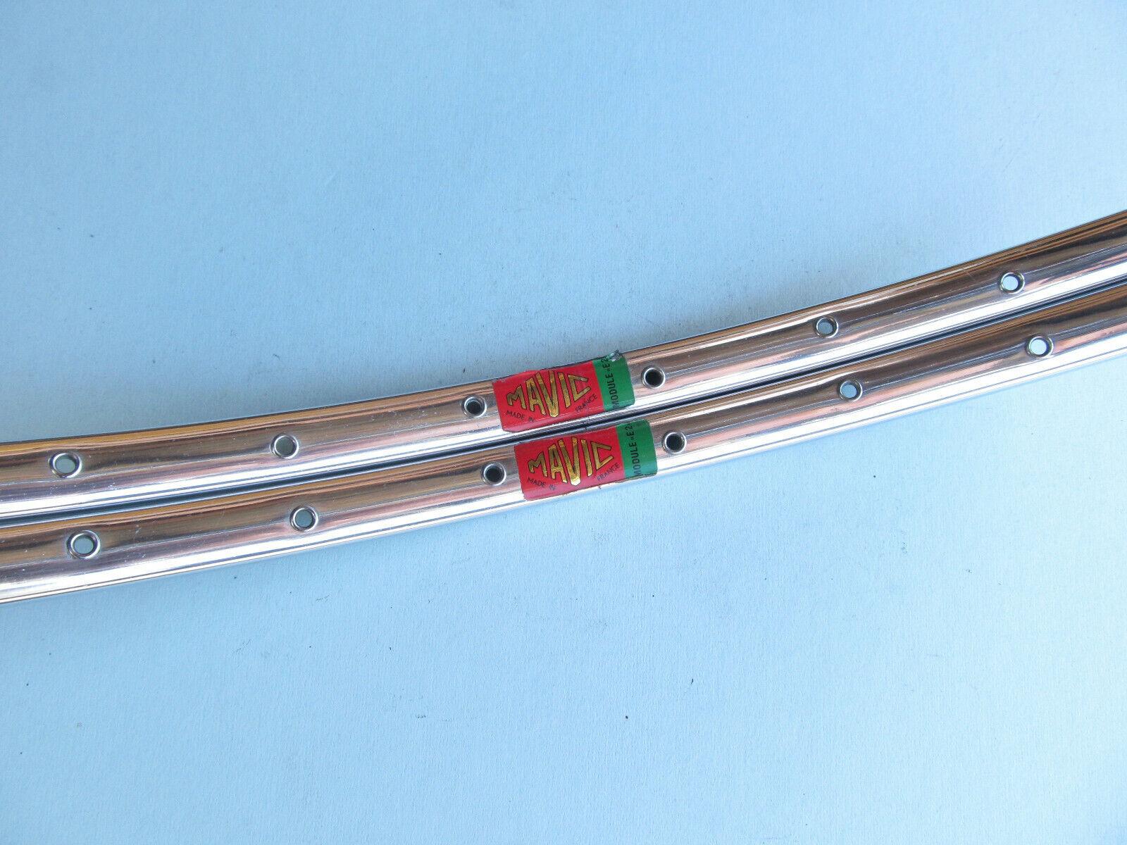 Vintage French Mavic Module E2 Clincher Rims in 700c