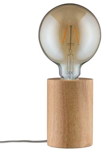 Paulmann Tischleuchte Neordic Talin 1-flammig Holz