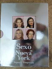 DVD Sexo en Nueva York,Segunda Temporada,Serie TV,3 dvds