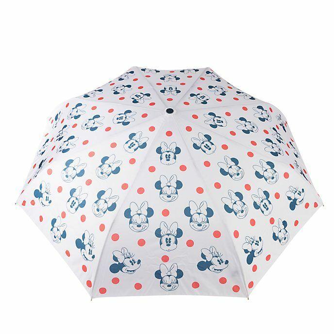 Disney Store Positively Minnie Mouse & Polka Dot Printed Design Umbrella ~ BNWT