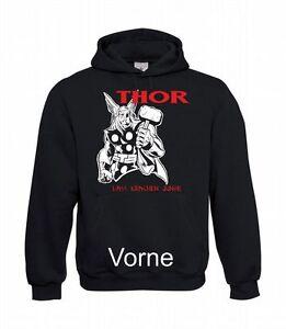 Thor-Lass-Krachen-Men-039-s-Hoodie-I-Hoodie-I-Hoodie-to-5XL