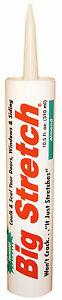Almond Big Stretch Caulk case of (12) 10.5 oz. tubes