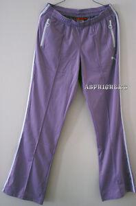 Puma-Women-Casual-Active-Tracksuit-Pants-M-Ladies-Girls-Sports-Wear-New-Purple