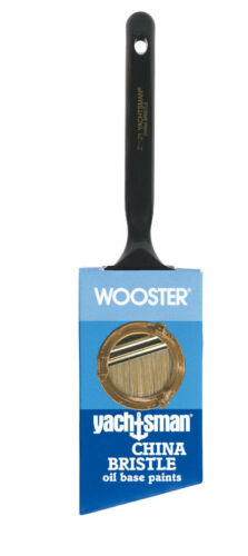 Wooster  Yachtsman  2 in W Angle  White China Bristle  Paint Brush