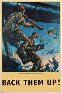 WB66-Vintage-Back-Them-Up-British-Airbourne-WW2-World-War-II-Poster-A2-A3-A4