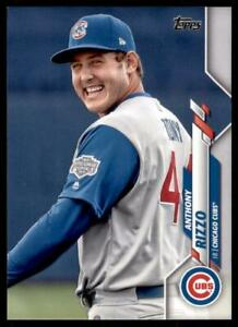 2020-Update-Base-Variation-SP-U-201-Anthony-Rizzo-Chicago-Cubs